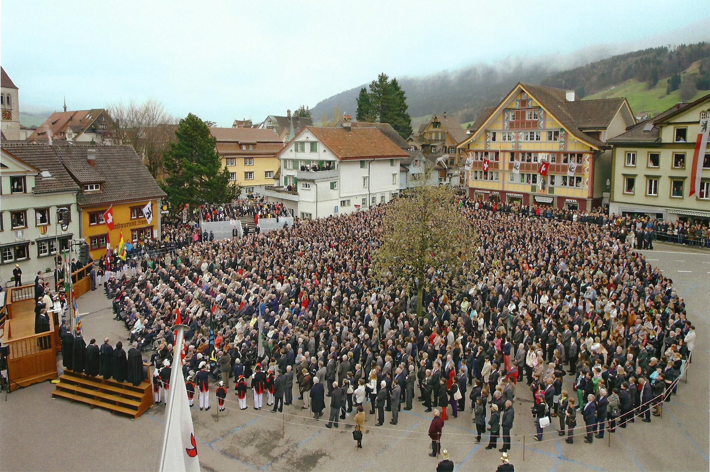 Landsgemeinde Appenzell Rosmarie Widmer Gysel